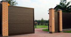 Откатные и распашные ворота: особенности и преимущества этих моделей